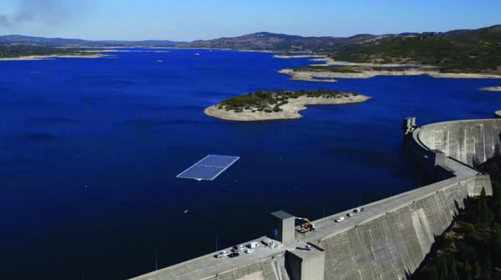 Fig 2_Alto Rabagao dam with floating photovoltaic