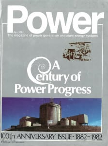 <strong>1980s:</strong> <br><br> In 1982, POWER magazine celebrated its 100th anniversary. From the very beginning, POWER has kept editorial pace with fast-developing technology, and a market strongly influenced by economic growth. As it had through its first 100 years, during the past 35 years, POWER's editorial pages reflected the proliferation of new products and scientific advances. It is also a primary outlet for technical papers.