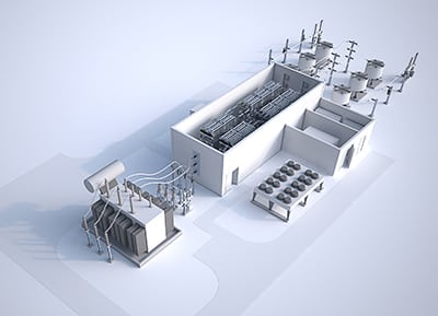 Siemens has introduced a new medium-voltage power transmission solution that uses direct current applications to increase power transfer capability while also minimizing losses. Courtesy: Siemens
