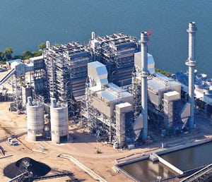 In September 2009, Luminant completed the 581-MW Sandow 5 unit in Milam County, Texas—the first new coal unit build in Texas in 17 years. It uses circulating fluidized bed technology and burns Texas lignite coal.
