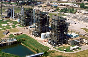 Figure 1. The Handley Generating Station is a three-unit, 1,265-MW power plant in Fort Worth, Texas. The natural gas-fired plant will remain in the hands of Exelon subsidiary ExGen Texas Power (EGTP), in exchange for a $60 million payment to lenders under a bankruptcy plan filed by EGTP on November 7, 2017. Courtesy: Exelon Corp.