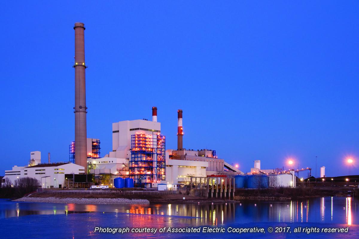 Fig 1-Thomas Hill coal power plant