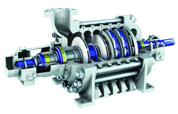 Figure 7 - Sulzer centrifugal pump