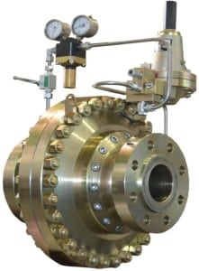 Fig 6. Axial gas pressure regulator photo