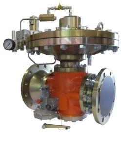 Fig 8. Radlial gas pressure regulator photo by Michael Lang