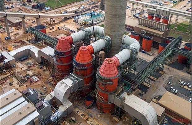 Eskom's Kusile wet flue gas desulphurization plant