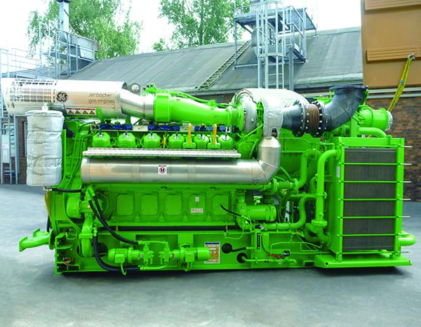 Fig 4_Hamburg Jenbacher engine
