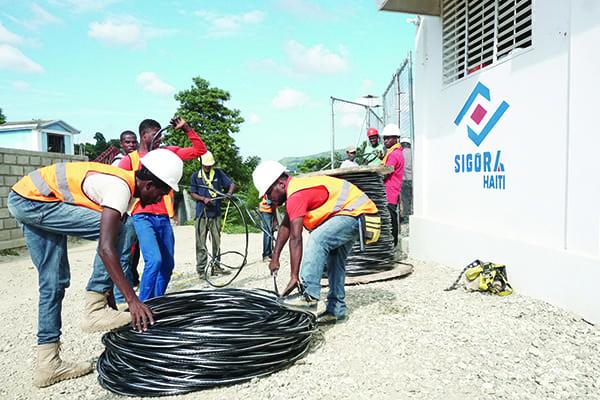 Figure 1 - Sigora Technicians Haiti DSC01110