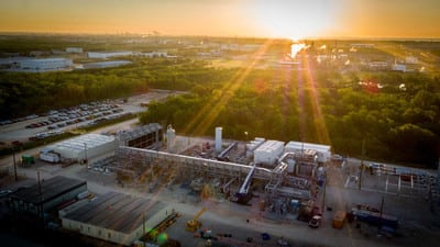 NET Power's 50 MWth Demonstration Plant in La Porte, Texas (PRNewsfoto/NET Power, LLC)
