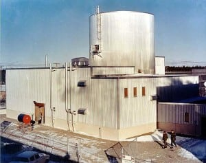 Figure 1. The SM-1A nuclear reactor at Fort Greely Military Reservation in Alaska is the only nuclear facility ever built in that state. The reactor was online from 1962 to 1972, providing electricity and steam to the army base as part of an experimental government program to see how the unit would operate in arctic conditions, in a remote location. Courtesy: U.S. Army