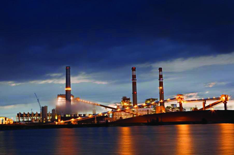 Splash_Comanche power plant