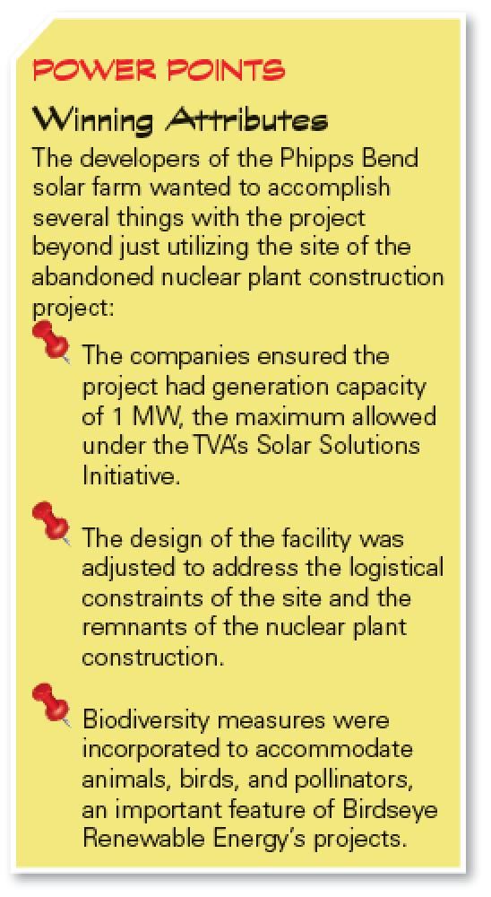 Phipps Bend solar farm