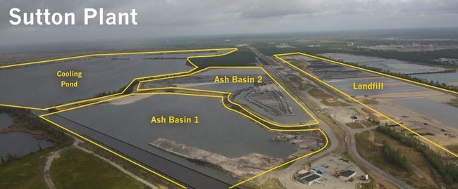 Overview of the Sutton Plant. Courtesy: Duke Energy