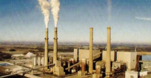 The last four coal-fired units at the Schahfer Generating Station in Wheatfield, Indiana, are expected to close by 2023. (Courtesy: NIPSCO)