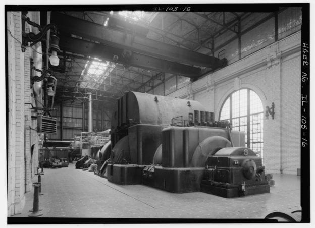 Fisk power plant in Chicago