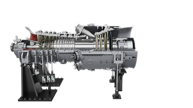 Siemens H-class turbine