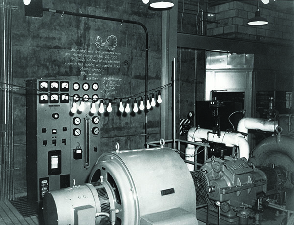The world's first fast reactor