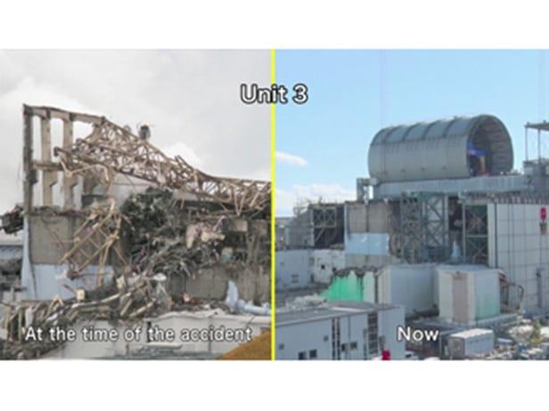 Progress at Fukushima Daiichi