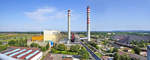 Opatovice-coal-power-plant