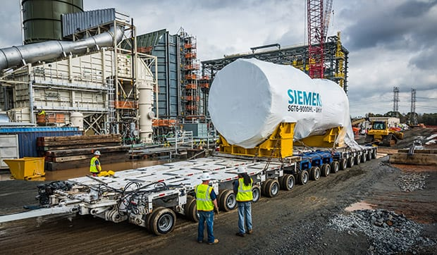 Siemens-HL-class-gas-turbine-delivery-Duke-Energy