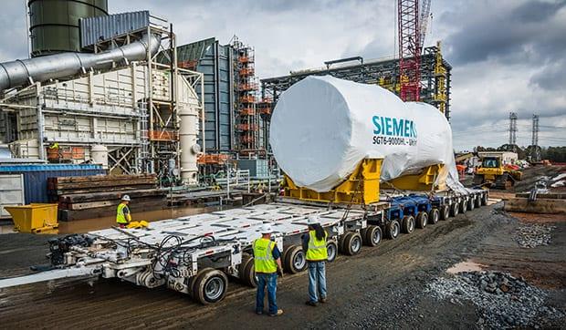 Siemens-HL-class-gas-turbine-delivery-Duke-Energy
