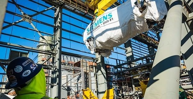 Siemens-HL-class-gas-turbine-Duke-Energy