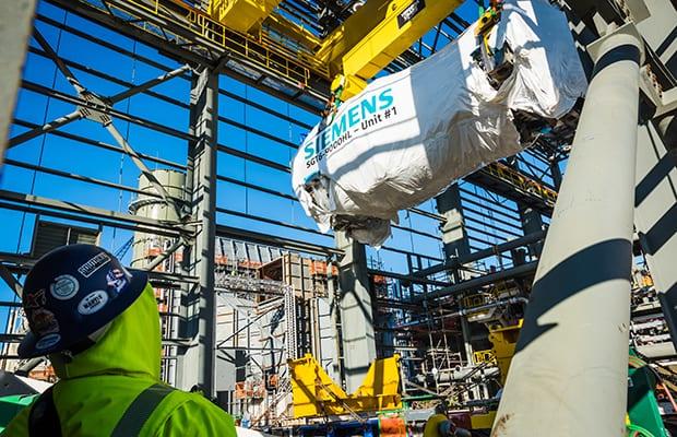 Siemens-HL-class-gas-turbine-Duke-Energy