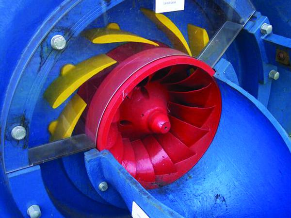 Francis-turbine-hydropower