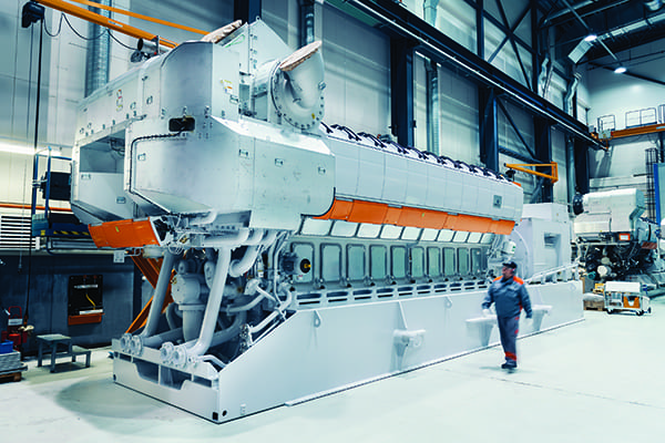 Wartsila-reciprocating-internal-combustion-engine