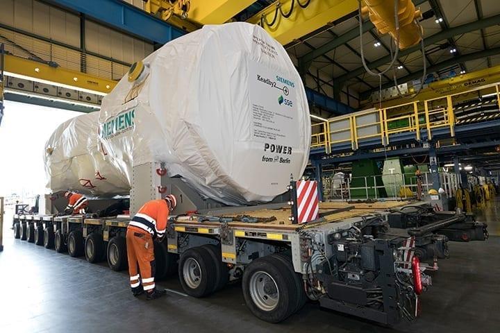 Siemens-gas-turbine