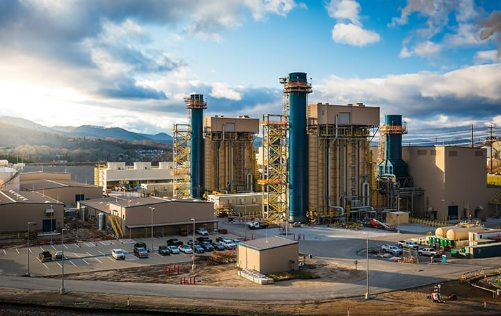 Asheville-combined-cycle-power-plant-natural-gas-combustion-turbine
