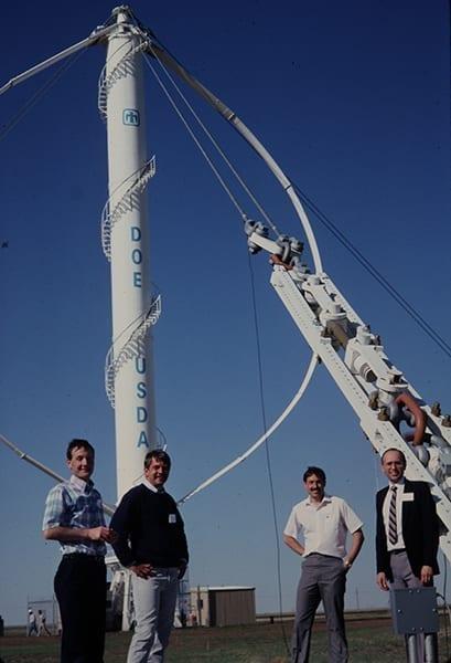 Vertical-axis-wind-turbine-Sandia-National-Lab-34m-Bushland-Texas