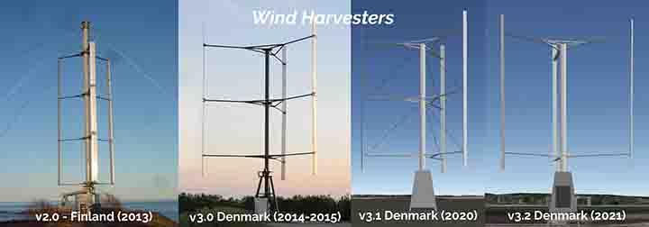 Wind-Harvester-prototype-progression