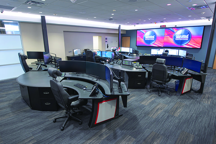 Finding a Security Solution for a Control Room
