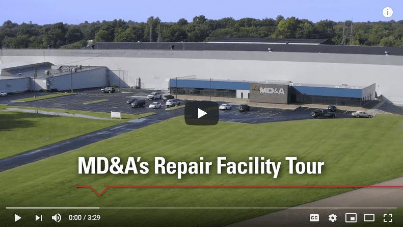 MD&A Turbine-Generator Repair Shop Tour